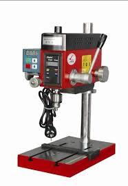 OnlineToolReviewscom  Global Machinery Company LS13DP Lightsabre Small Bench Drill Press
