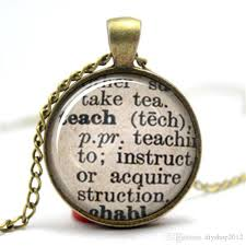 whole teach dictionary definition teacher necklace diamond what are