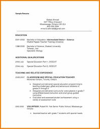 Sample Resume Objectives For Paraprofessional Save Resume Sample