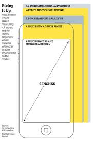 iphone 6 screen size inches apple to release 4 7 and 5 5 inch iphone 6 to mitigate fading ipad