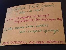 students ben taylor joan didion s definition of self respect