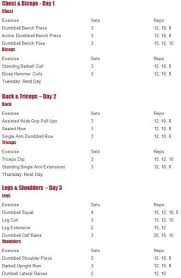 a 3 day workout plan musclebuildingworkouts