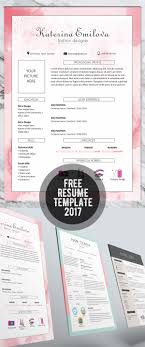 20 cv resume templates 2017 bies graphic design resume template 2017
