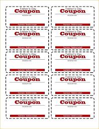 coupon templates word free coupon template meltfm co