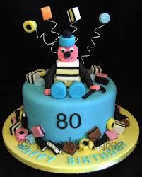Liquorice Allsorts Cake Designs Fun Bertie Bassett Cake For A Liquorice Allsort Lover All