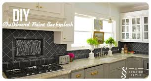 Paint Backsplash Unique DIY Tutorial Chalkboard Paint Backsplash 48 Home Depot Gift