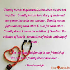 Quotes Family Love Togetherness Family Quote Famous Quotes Library