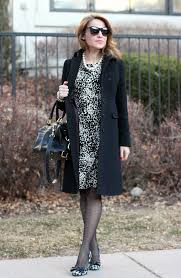 work outfit dot spot houndstooth coat j crew
