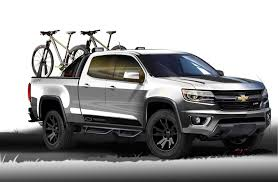 Colorado black chevy colorado : Chevy Reveals Colorado Sport And Silverado Toughnology Truck Concepts