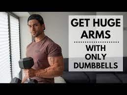 bigger arms workout dumbbells only