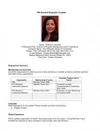 6 professional bio template janitor resume. 9 personal bio example ...