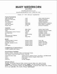 Music Resume Template Music Performance Resume Lovely Music Resume Template Music Resume 31