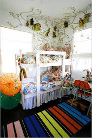 Shared Kids Bedroom With Scandinavian Bunk Bed