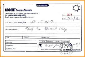 Cheque Payment Receipt Format In Word Extraordinary Travel Bill Format In Word Bino48terrainsco