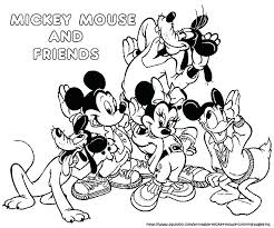 Mickey Mouse And Friends Drawing At Getdrawingscom Free For