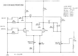 v125 bass valve head front input stage 1981 diagram