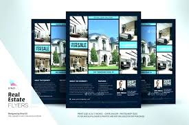 Real Estate Brochure Template Free Property Flyer Template