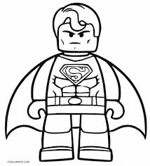 I made the coloring page of superman to share with you! Get This Free Superman Coloring Pages To Print 94075