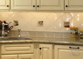 image of rustic kitchen wall tiles ideas