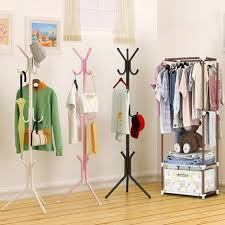 High Quality Coat Rack High Quality Fashion Metal Coat Rack Stand Clothes Rack Perfect Home 2