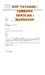 Contoh Kop Surat Gudep Pramuka Contoh Kop Surat Cute766