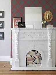 amazing modern fake fireplace ideas