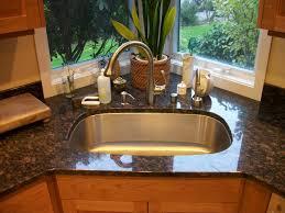 stainless steel corner kitchen sink