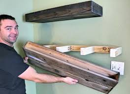 best way to hang a shelf best way to hang floating shelves wood floating shelf how