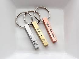 custom handwriting keychain custom engraved key chain personalized gift for men custom key chain groomsmen gift handwriting keychain