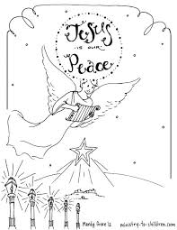 Small Picture Printable Angel Coloring Pages Latest Click The Angel Gabriel