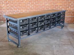 Vintage Industrial Storage and Tables from Cleveland Art