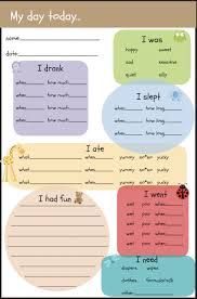 Daycare Organizational Chart 39 Accurate Baby Care Log Pdf