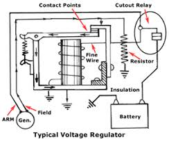 automobile electrical systems part lekule blog voltage regulator diagram