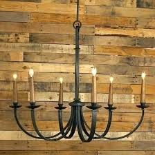 rustic metal chandelier chandeliers modernized iron large shades of light