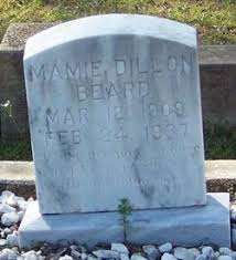 Mamie Dillon Beard (1909-1937) - Find A Grave Memorial