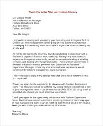 Gallery Of Thank You Letter To Lawyer Sample