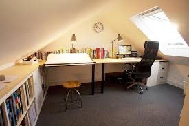 loft office. Loft Conversion For Home Office, Exeter Office
