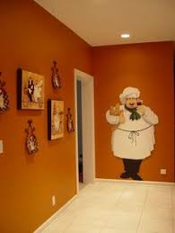 fat chef kitchen wall art