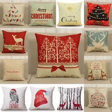 christmas pillows on sale. Perfect Pillows Christmas Xmas Linen Cushion Cover Throw Pillow Case Home Decor Festive Gift For Pillows On Sale L