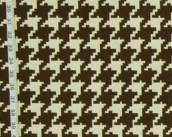 large brown houndstooth fabric reversible upholstery