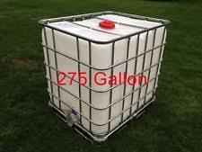 clean ibc 275 gallon liquid storage tote garden water collection dd1 ibc water tank a70