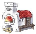 Печка в картинках
