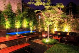 modern patio lighting ideas