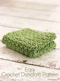Easy Crochet Dishcloth Patterns Adorable Easy Crochet Dishcloth Pattern Midwestern Moms