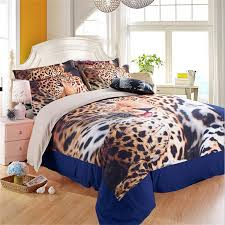 duvet cover from sheets example 3d animal leopard print bedding sets twin queen king size