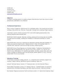 Welder Experience Certificate Format Doc Copy Image Welder Resume