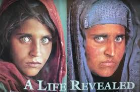 The National Of Israel Times Arrested Fame 'afghan Geographic Girl'