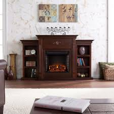 electric fireplaces reviews beautiful wildon home  conway electric fireplace with bookcases reviews