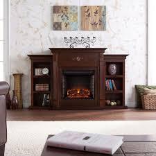 electric fireplaces reviews beautiful wildon home conway electric fireplace with bookcases reviews
