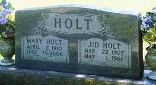 HOLT, MARY - Boone County, Arkansas | MARY HOLT - Arkansas Gravestone Photos